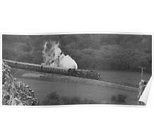Swanage Steam Train Railway Poster