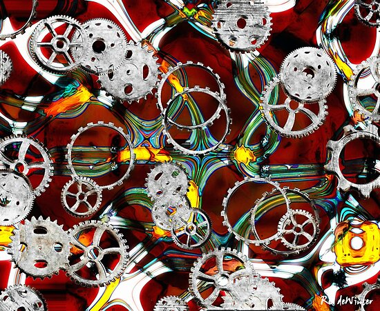 Grinding the Gears by RC deWinter