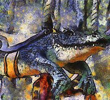 Childhood Dreams - Later Alligator by Bunny Clarke