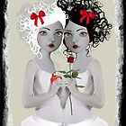 Snow White &amp; Rose Red by Tanya  Mayers