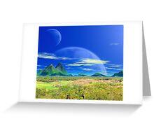 Across Pandoran Plains Greeting Card