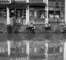 Canal Dynasty - Shantang Canal - Suzhou by Mark Bolton