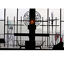 In Revered Silhouette Photographic Print