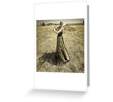 One Good Shot  - Thats All I Need. Greeting Card