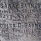 Headstone Detail (Barnes) by Buhruce