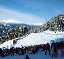 Olympic Women's Downhill by ScottPhotos