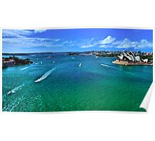 Sydney Harbour - Australia Poster