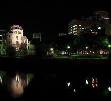 A-Bomb Dome At Night by K-Tak