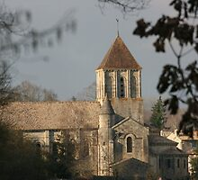 Eglise St.Hilaire by Pamela Jayne Smith