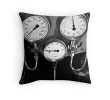 Old gauges Throw Pillow