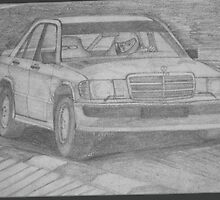 Mercedes 190E by Chad Williams