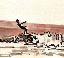 TLV - surfer by Priel Hackim