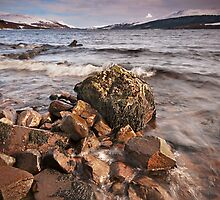 Loch Rannoch and Schiehallion by Phillip Dove