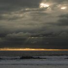 Sunset  at  Costa Caparica by BaZZuKa