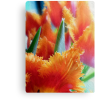 Flames of Spring Canvas Print