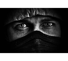 Mean man Photographic Print