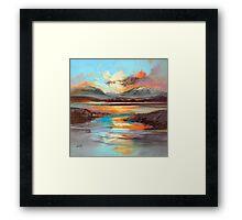Glen Spean Light Framed Print