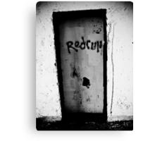 Murder Door Canvas Print