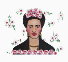 Frida in the Flowers Tee by signaturelaurel