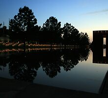 Oklahoma City National Memorial by Forrest L Smith