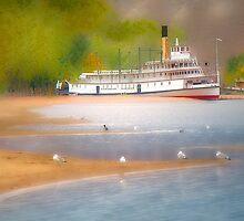 Stern-wheeler S.S.Sicamous by John Poon