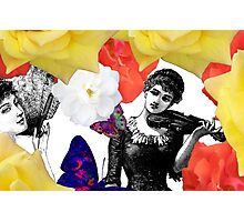 Composition With Women, Roses, Abstracted Butterflies – March 9, 2010 Photographic Print