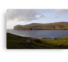 Loch Dunvegan Canvas Print