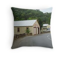 Walhalla,Valley Township Throw Pillow
