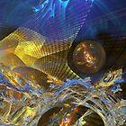 The Blue Wren's Nest by Chris  Willis