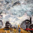 Gare Saint Lazare by Colin Cartwright