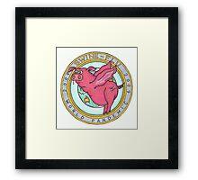 Swine Flu World Pandemic 2009 Framed Print
