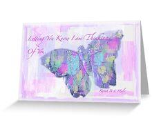 Thinking Greeting Card