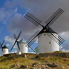 windmill of consuegra by salparadise666