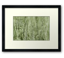 Grow, grow . . . Framed Print