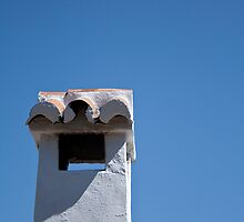Spanish chimney, Casares by Liza Kirwan