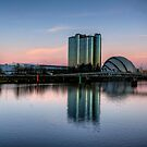 Glasgow in spring by Daniel Davison
