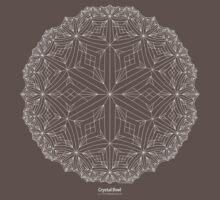 Crystal Bowl [white] by TheMandalaLady