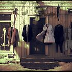 Dresses in Old Town by Morten Kristoffersen