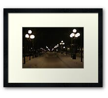A lot of lamps (Stockholm, Sweden) Framed Print