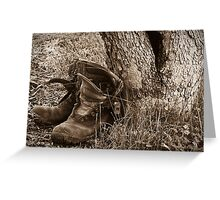 The Boots Greeting Card