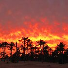 THE DREAMY SUNSET by Khaled EL Tangeer