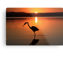 There Is Only This Moment ! -Lake Weyba SE Queensland Metal Print