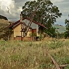 The Goods Shed - Gundagai Railway Station by GailD