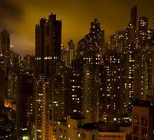 A Hong Kong Cityscape by Andre Baljeu