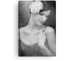 Classic portrait Canvas Print
