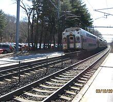 MBTA Commuter Line  by Eric Sanford