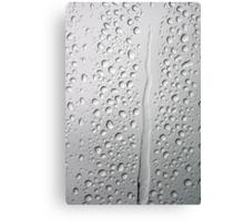Raindrops on the Windscreen Canvas Print