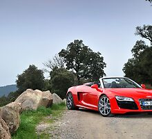 The new Audi R8 V10 Spyder .... by M-Pics