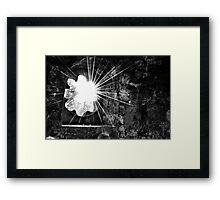 Light Burst Framed Print