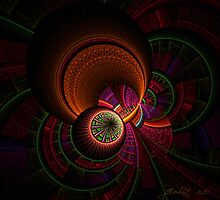 Apophysis Space Travel by Julie Everhart